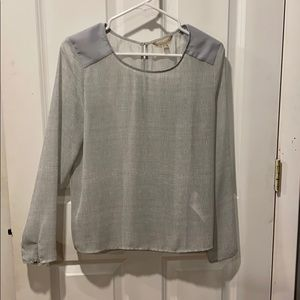 Gorgeous sheer blouse from Banana Republic
